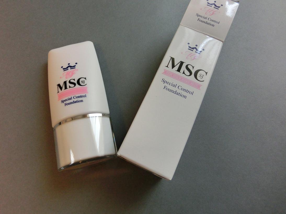 MSC(エムエスシー)薬用MSファンデ