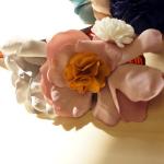 髪が多い人も・少ない人も♪まとめ髪が簡単にできる~マルチに使えるお花ヘアクリップ!