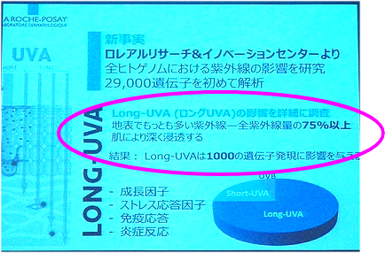 ロングUVAと遺伝子