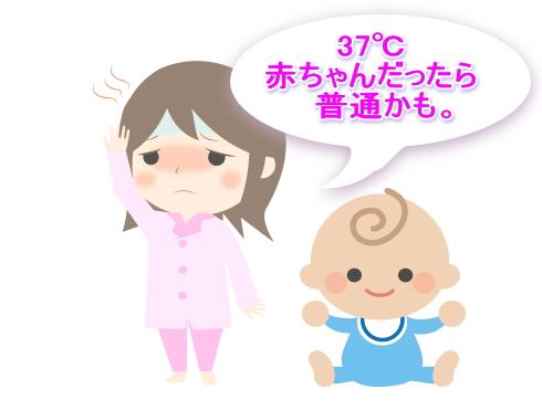 37℃平熱