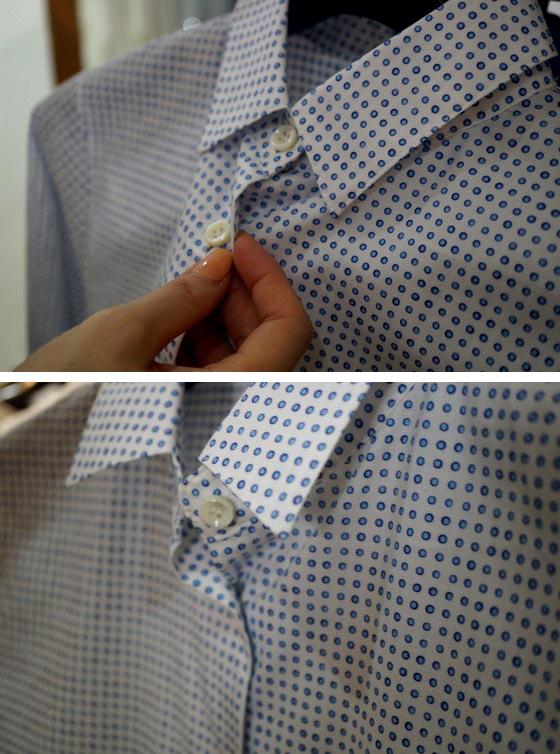 ドットイタリアシャツ