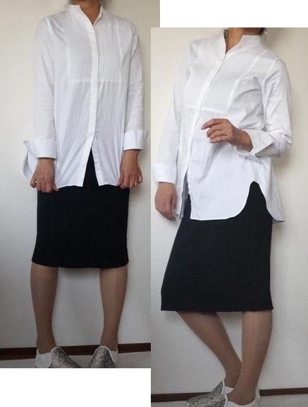 スカートだったら