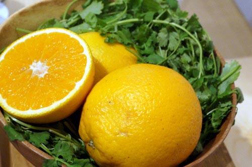 シラントロとビター・オレンジ