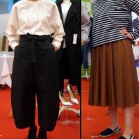 スカートとリボンガウチョ