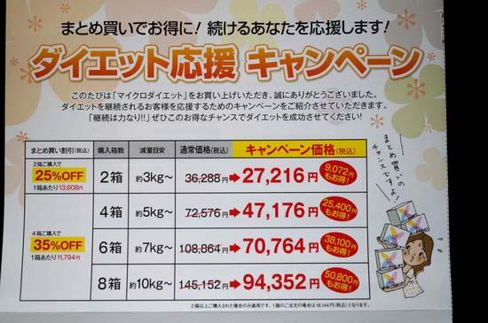 マイクロダイエット 価格