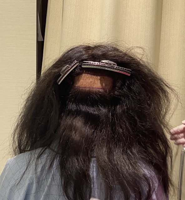 ■刈り上げした後の後頭部